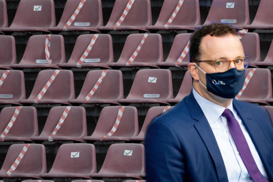 Spahn zu Zuschauer in der Bundesliga: Steigende Infektionszahlen, keine Fans im Stadion