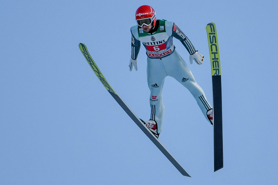 Markus Eisenbichler wurde bester Deutscher.