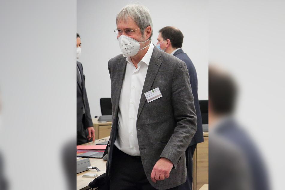 Der psychiatrische Gutachter Professor Norbert Leygraf (68) sagte vor Gericht aus.