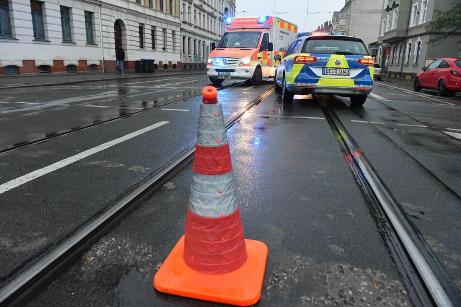 Knapp zwei Stunden nach dem Unfall auf der Georg-Schumann-Straße war die Unfallstelle wieder geräumt.