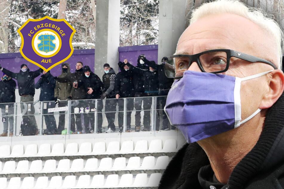 Nach Zuschauer-Eklat: FC Erzgebirge Aue entschuldigt sich für Fehlverhalten