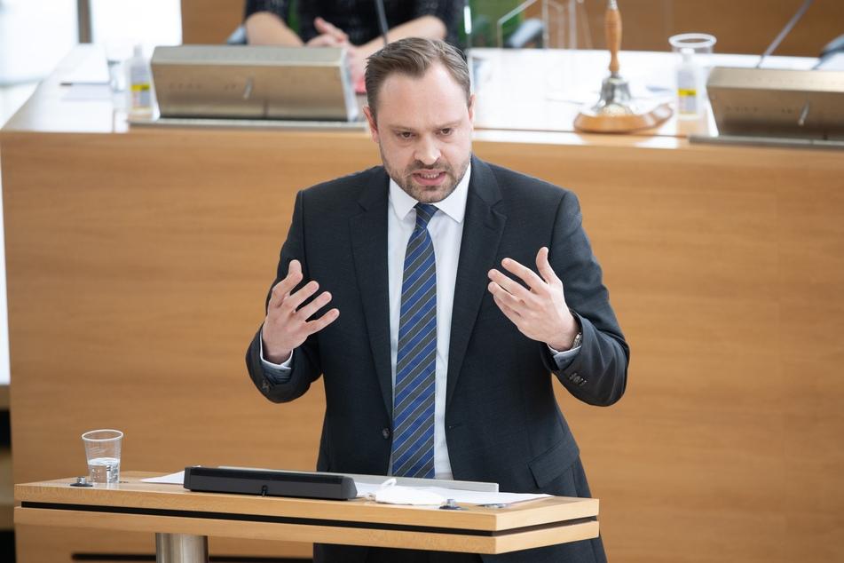 """Alexander Dierks (33, CDU) ist enttäuscht: """"Haben deutliche Verluste zu verzeichnen."""""""