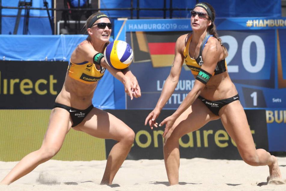 Deutsche Teams starten mit Siegen und Niederlagen in Beachvolleyball-WM