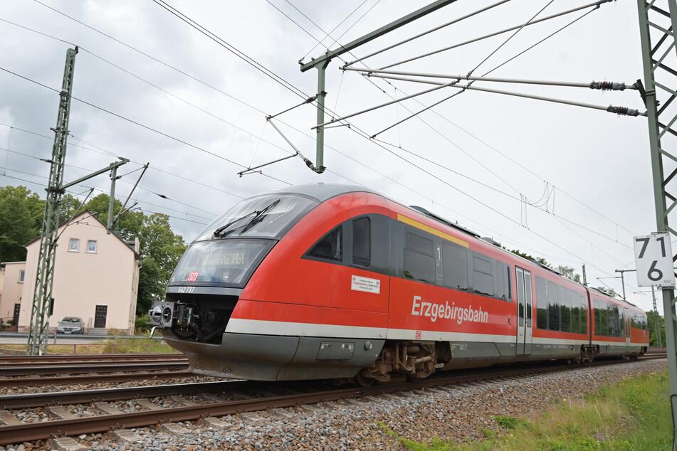 Nur die Erzgebirgsbahn ist vom GDL-Streik betroffen.