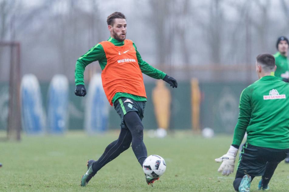 Erst seit Anfang Dezember trainiert Aufstiegsheld Justin Eilers mit der Bundesliga-Mannschaft.
