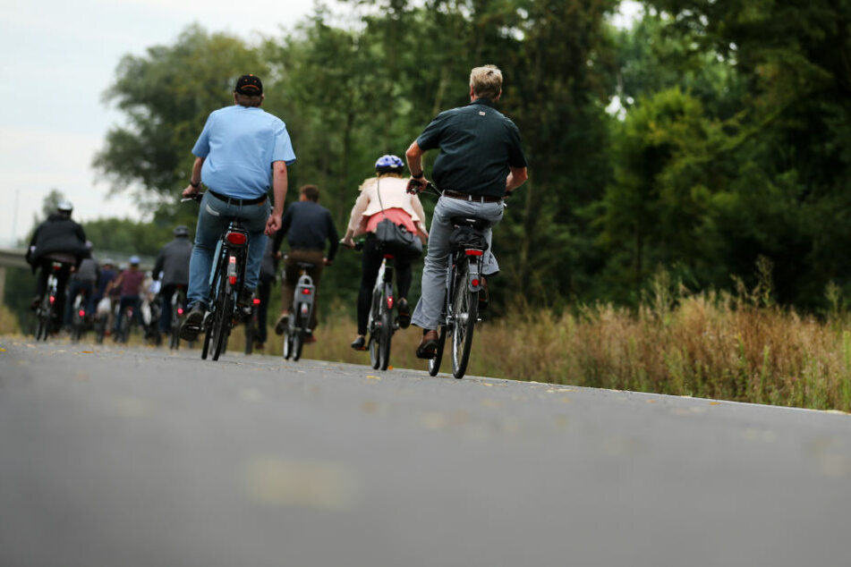 Der Bau Radschnellweg soll noch in diesem Jahr beginnen. (Symbobild)