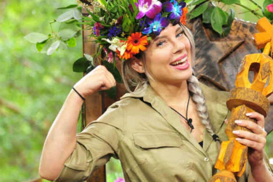 """Jenny Frankhauser wurde 2018 Dschungelkönigin bei """"Ich bin ein Star - Holt mich hier raus!""""."""