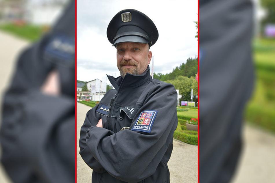Oberwachtmeister Daniel Tobolik (45).