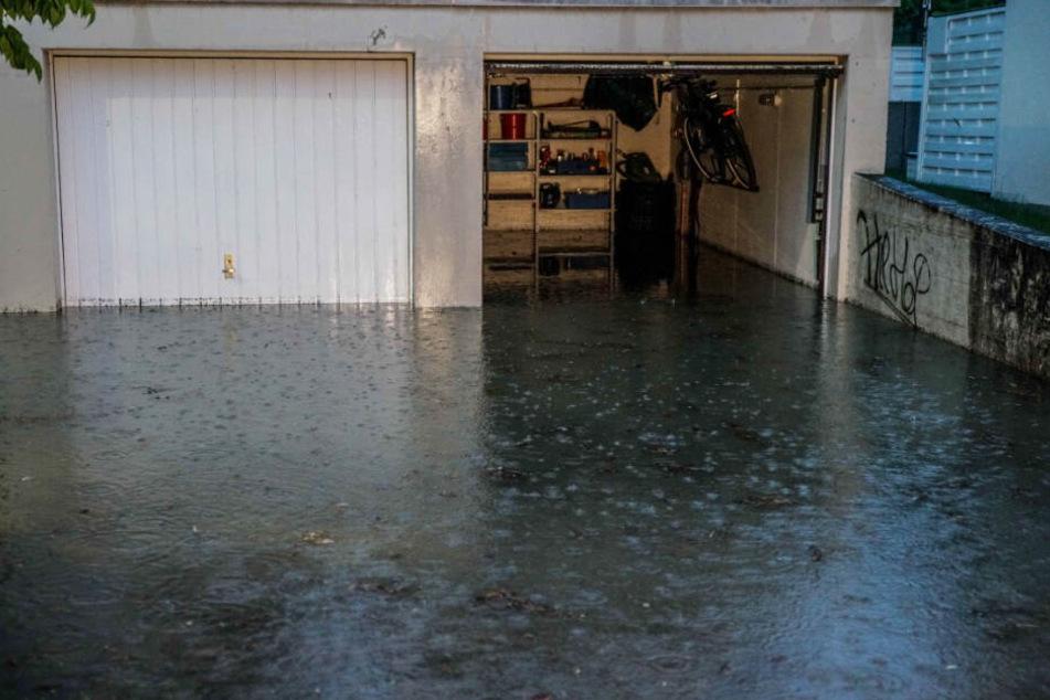 Auch diese Garage in Kirchheim unter Teck lief am Samstag voll.
