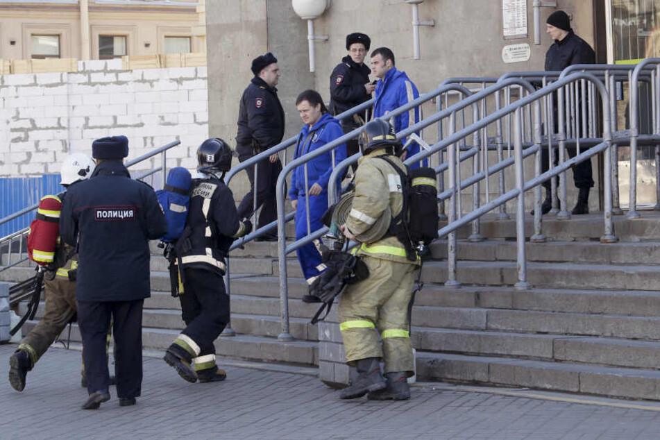 Am Donnerstag fanden Beamte einen Sprengsatz in einer Wohnung in St. Petersburg. (Symbolbild)