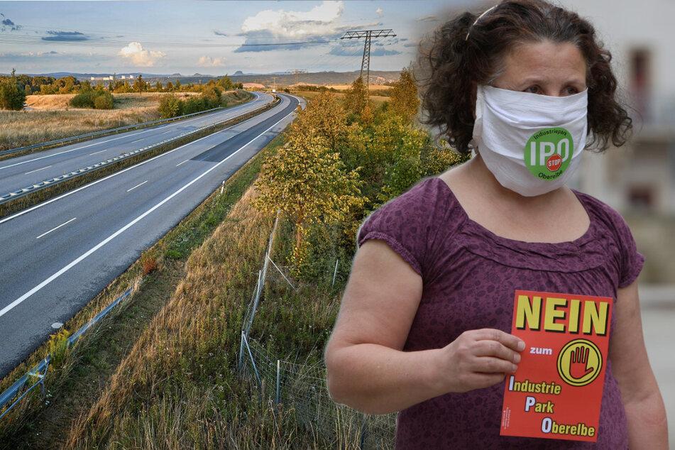 Am Barockgarten Großsedlitz: Umweltschützer machen gegen Industriepark mobil