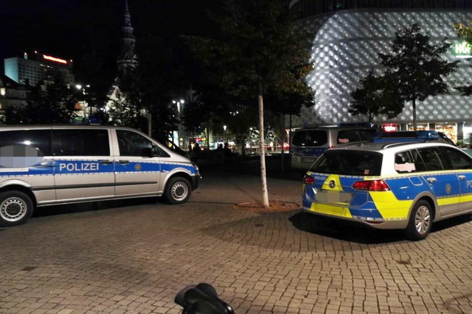 Der Polizeieinsatz vor Ort nach der tätlichen Auseinandersetzung dauerte mehrere Stunden.