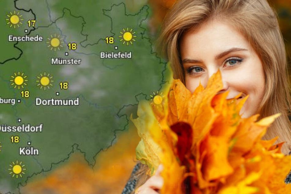 Bis Sonntag soll es in NRW schön warm bleiben. (Symbolbild)