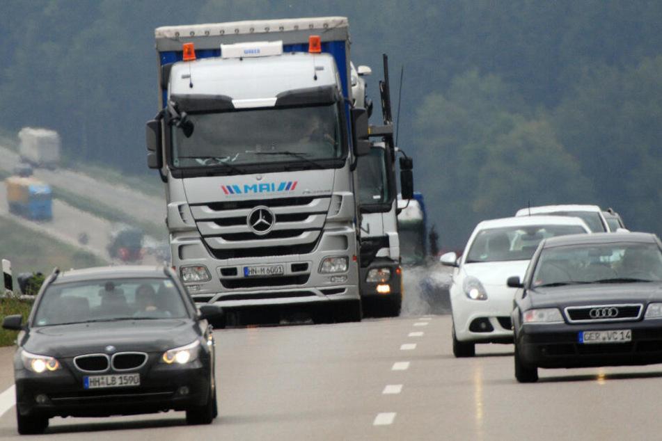 Der Unfall auf der A8 sollte den Verkehr auf der Autobahn erheblich einschränken.