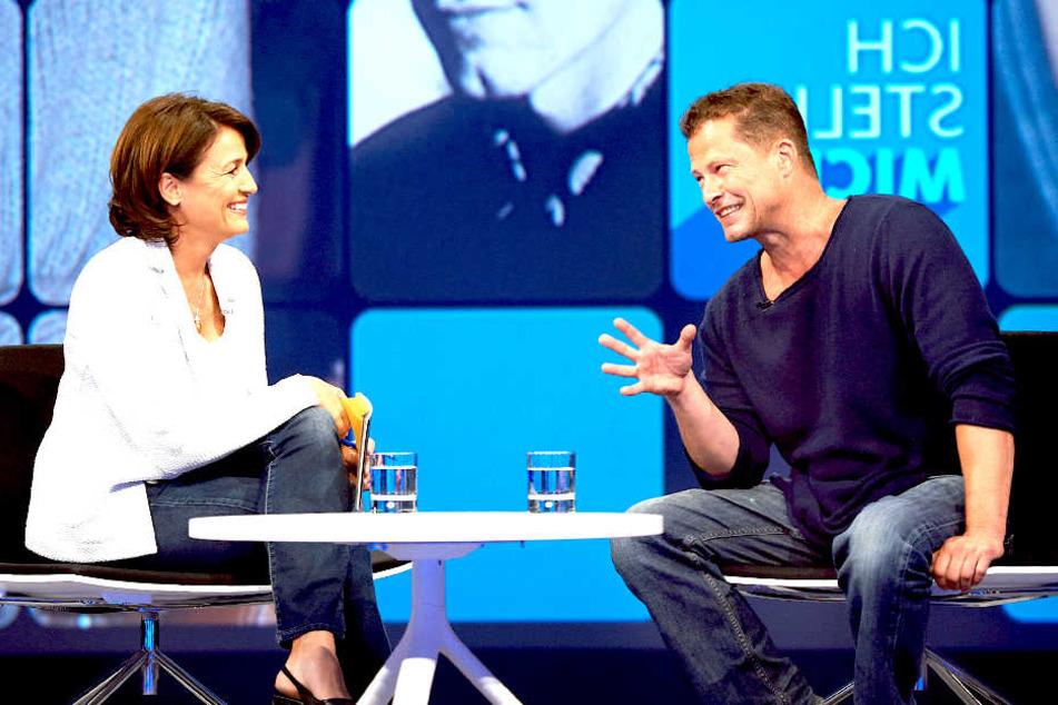"""Maischbergers Sendung """"Ich stelle mich"""" ist ein Porträt - auch mit Tiefgang ab und an."""