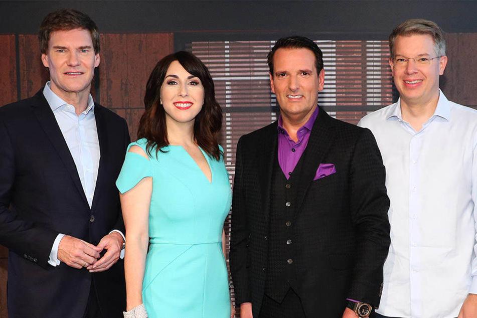 Die Investoren: Carsten Maschmeyer, Judith Williams, Ralf Dümmel und Frank Thelen (v.l.n.r.)