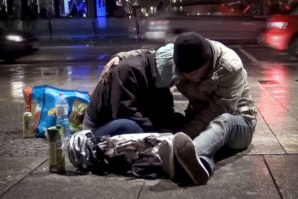 Drama vor unserer Haustür: So leben die Obdachlosen vom Hauptbahnhof