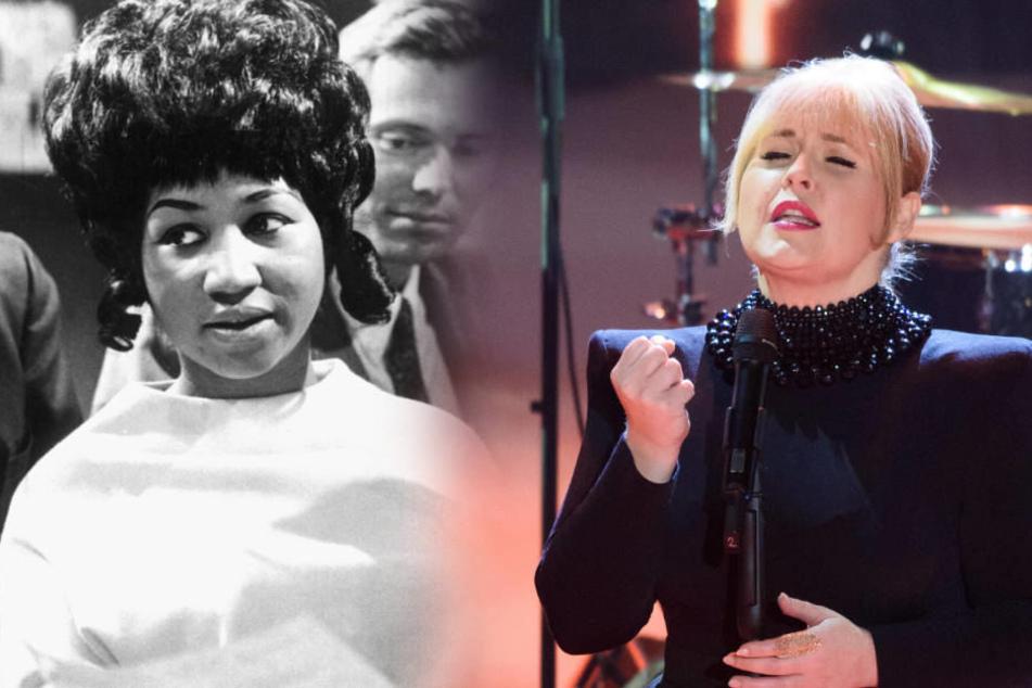Aretha Franklin war die große Heldin von Maite Kelly.