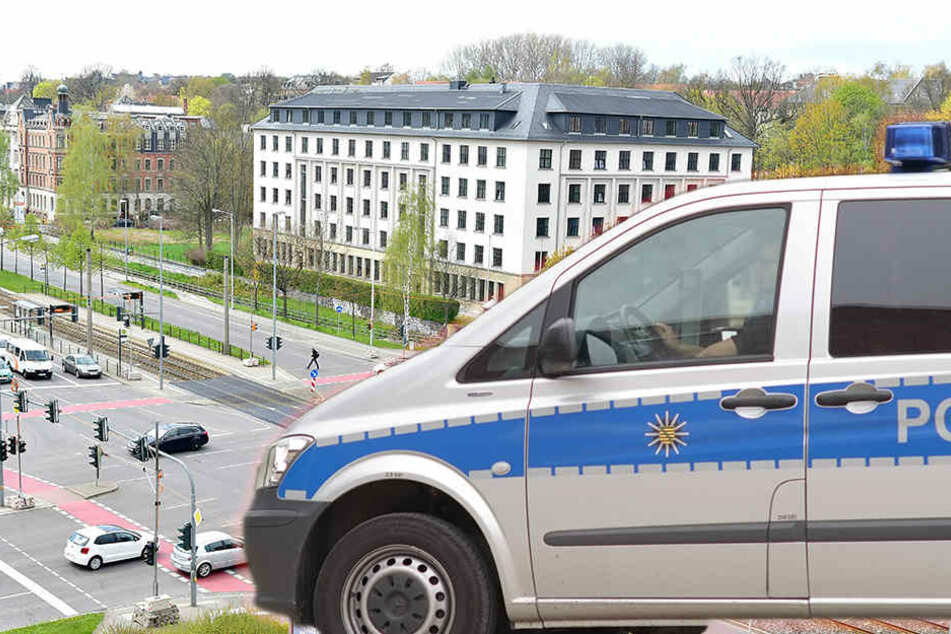Die Attacke fand im Bereich der Kreuzung Zwickauer Straße/Reichsstraße statt.