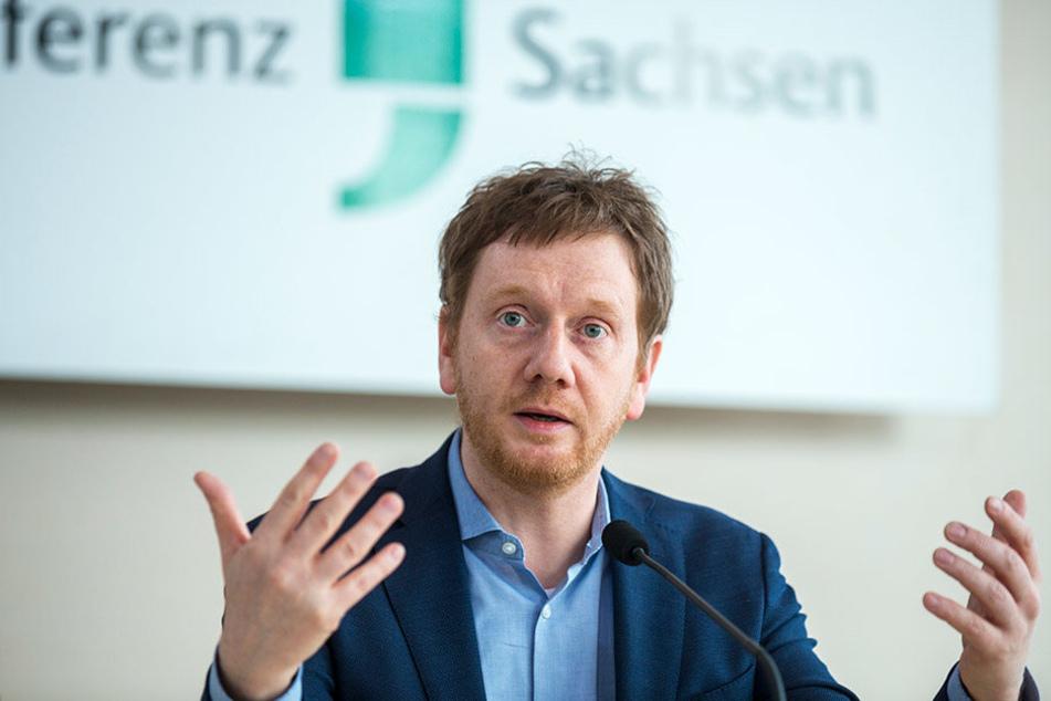 Warmlaufen für den Wahlkampf: CDU-Generalsekretär Michael Kretschmer.