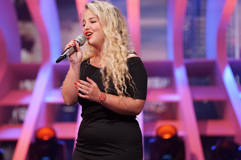 Shannen (22) aus Herford singt am Samstag vor der DSDS-Jury vor.