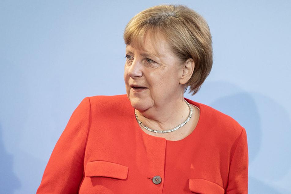 Angela Merkel widersprach am Dienstag den Äußerungen von Trump.