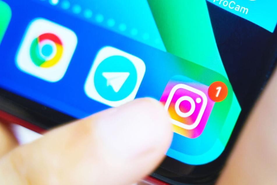 Die Instagram-App gibt es im Moment nicht für Tablets (Symbolbild).