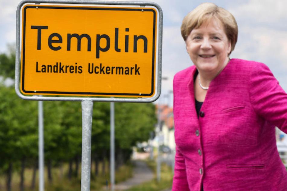 In erster Stadt überhaupt: Kanzlerin Merkel ist Ehrenbürgerin ihrer Heimatgemeinde
