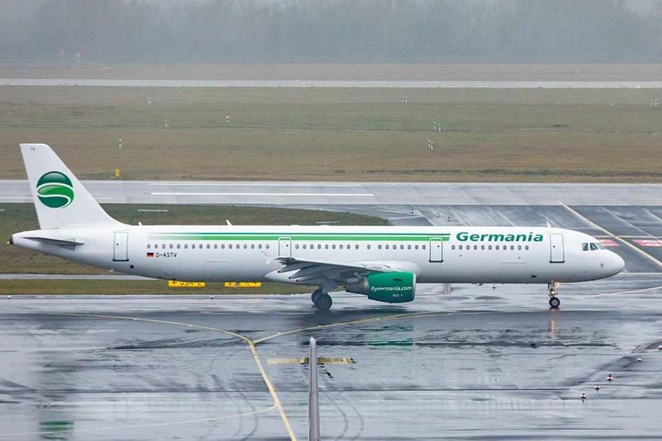 Germania-Flieger bleiben künftig am Boden. Die Fluggesellschaft hat ihren Betrieb eingestellt.