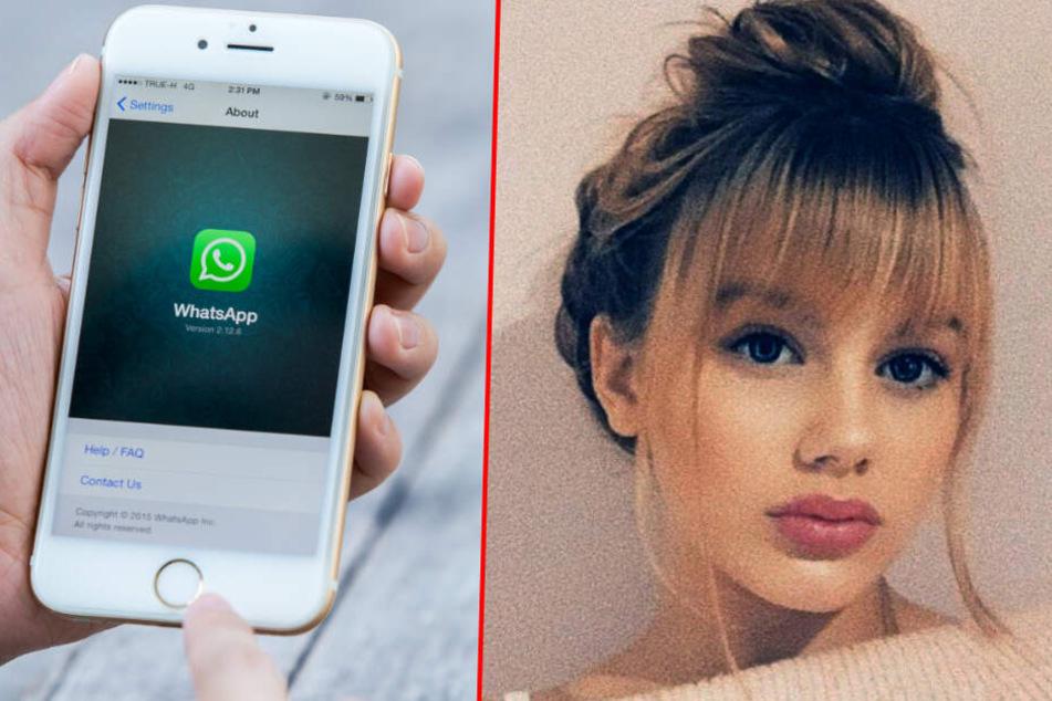 Die Polizei soll nun Zugriff auf den Whatsapp-Account von Rebecca haben.