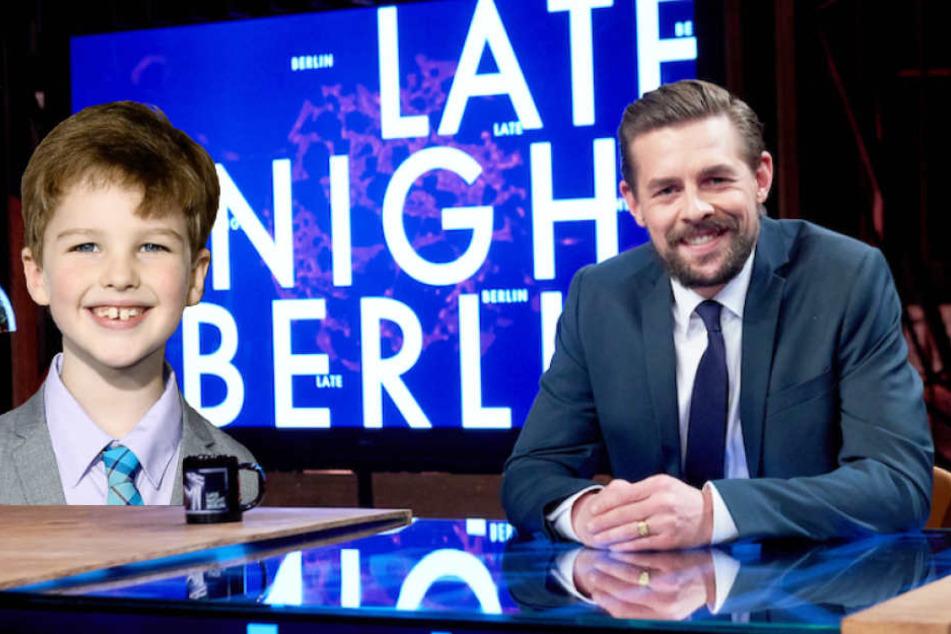 """""""Young Sheldon"""" zu Gast bei """"Late Night Berlin"""""""