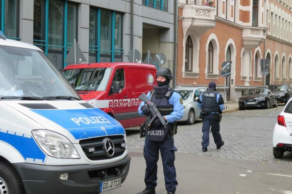 Das jüdische Viertel in Leipzig wurde abgeriegelt.