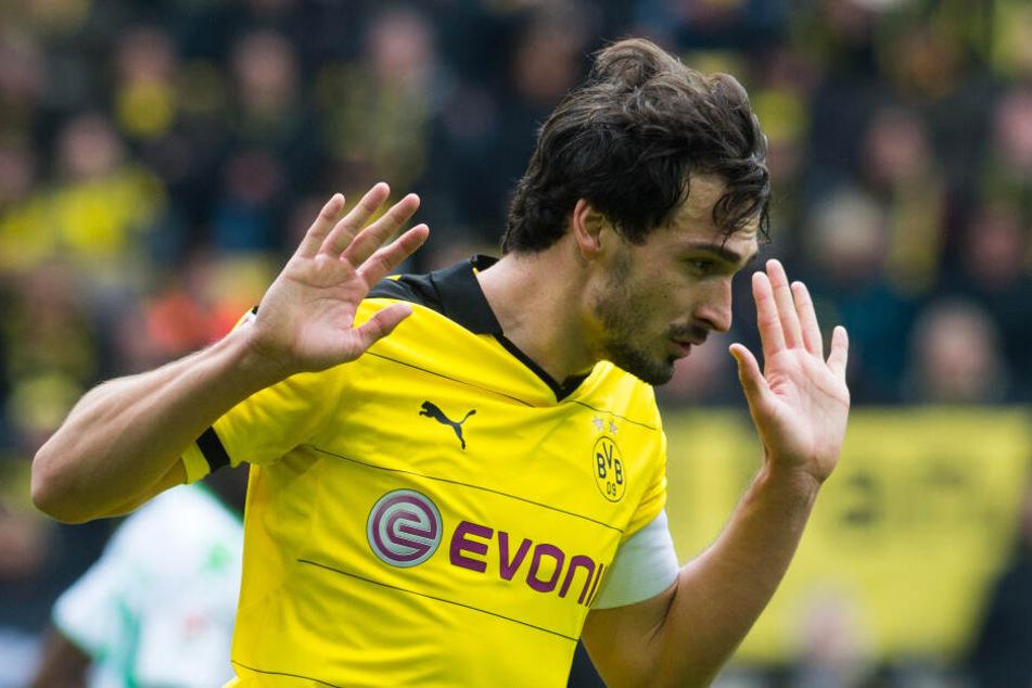Mats Hummels spielte bereits von 2008 bis 2016 für den BVB.