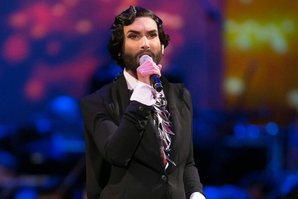 Conchita Wurst (28) beim SemperOpernball in Dresden 2017.