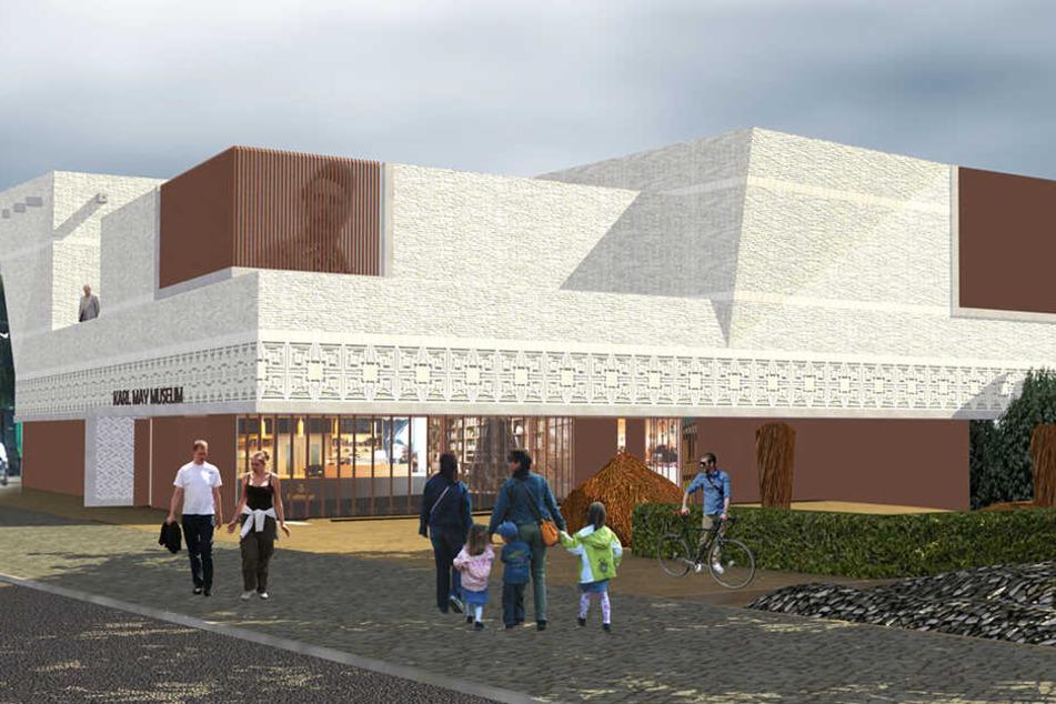 Dresden: So modern wird das neue Karl-May-Museum