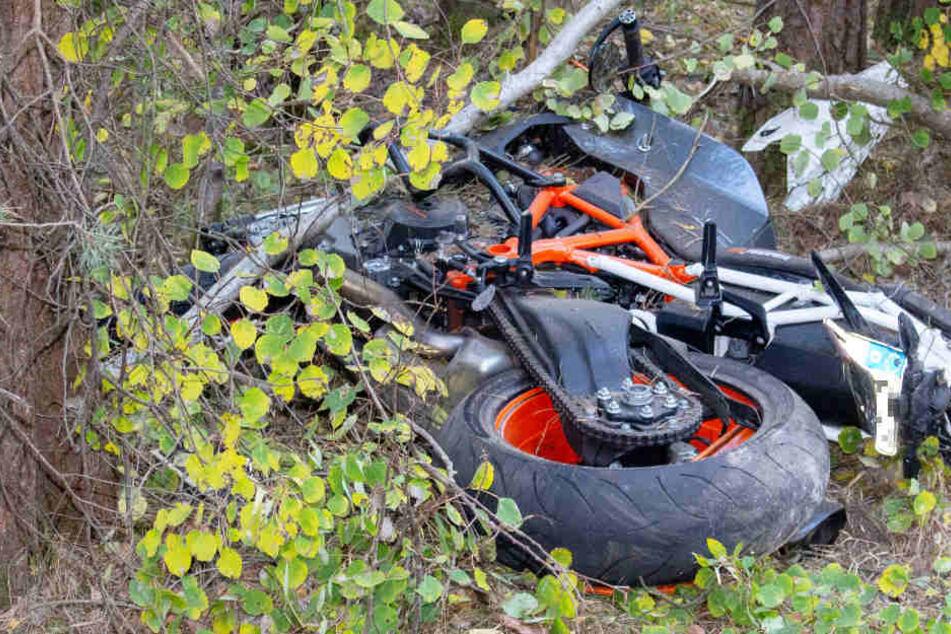 In Bayern ist ein Motorradausflug auf tragische Weise zu einem Ende gekommen.