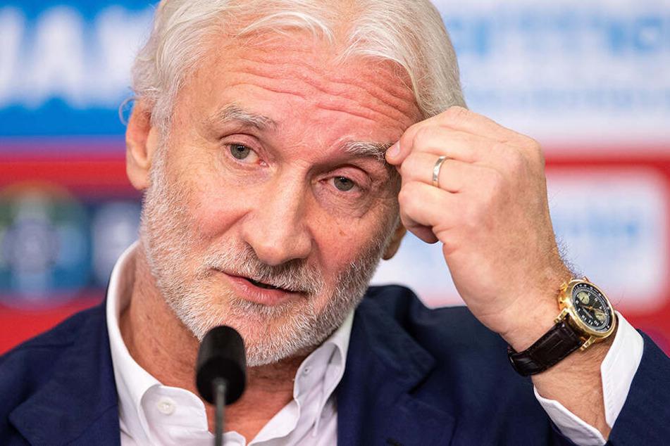 Würde Havertz wohl noch sehr gerne sehr lange behalten: Rudi Völler.
