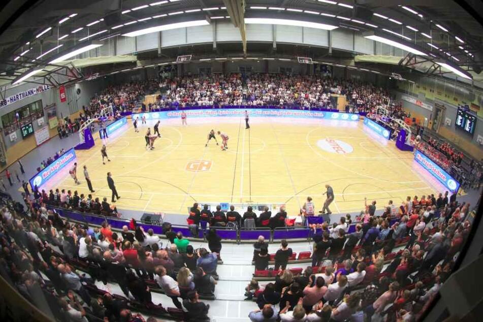 Hightech! Die Hartmann-Halle wird unsere neue Super-Arena