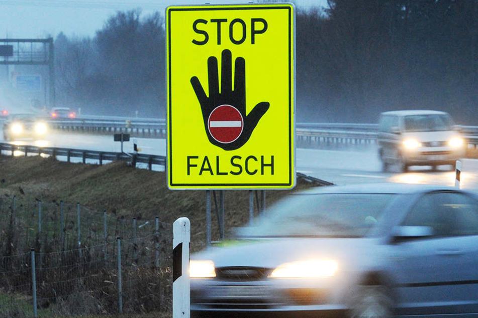 Unfall mit Geisterfahrer: Zwei Tote!