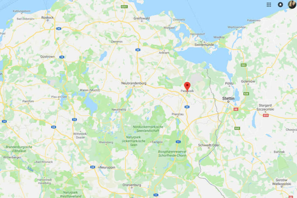Das Unglück geschah in Mecklenburg-Vorpommern.