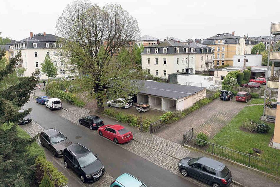 Der Komplex an der  Anton-Weck-Straße mit 16 Garagen wird  abgerissen.