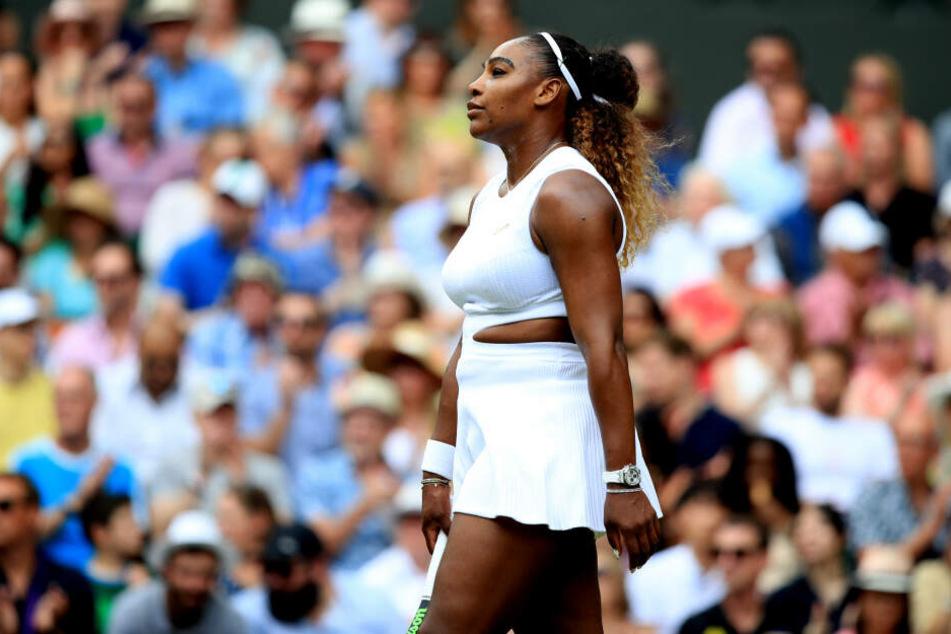 Serena Williams war bedient.