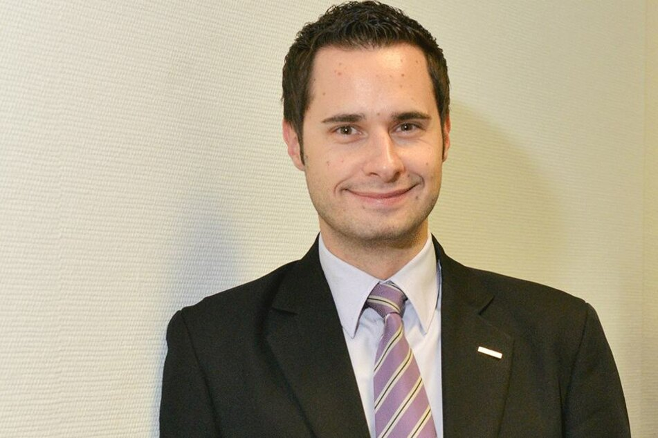 Martin Morawietz (31), Barmer-Regiochef in Dresden.