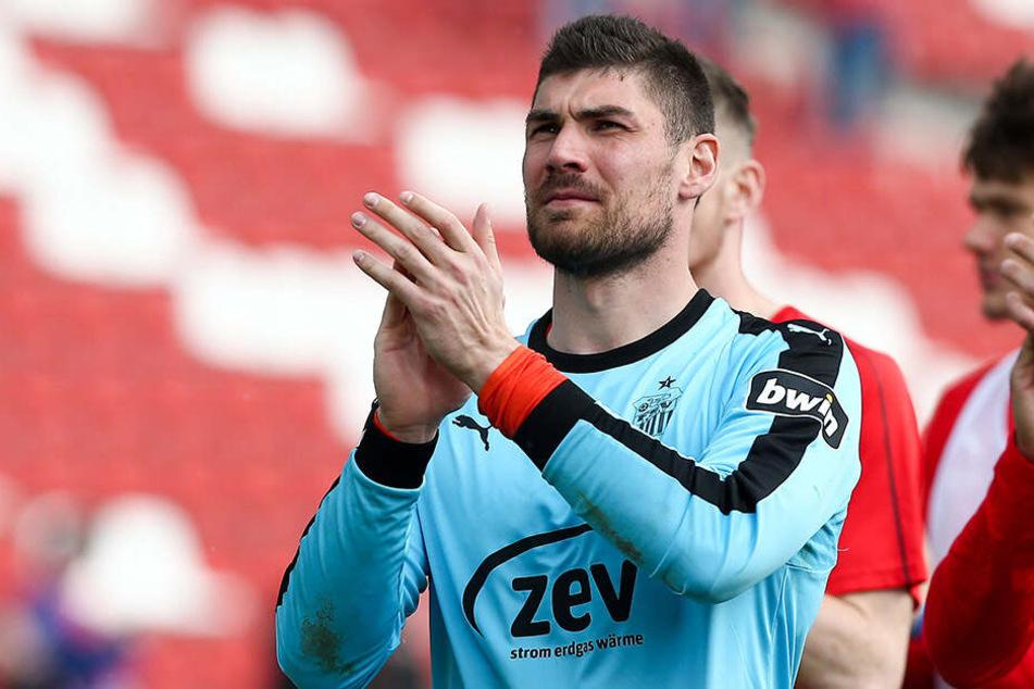 Johannes Brinkies, Stammtorhüter beim Drittligisten FSV Zwickau, wäre sicher ein guter Nachfolger für Markus Schubert.