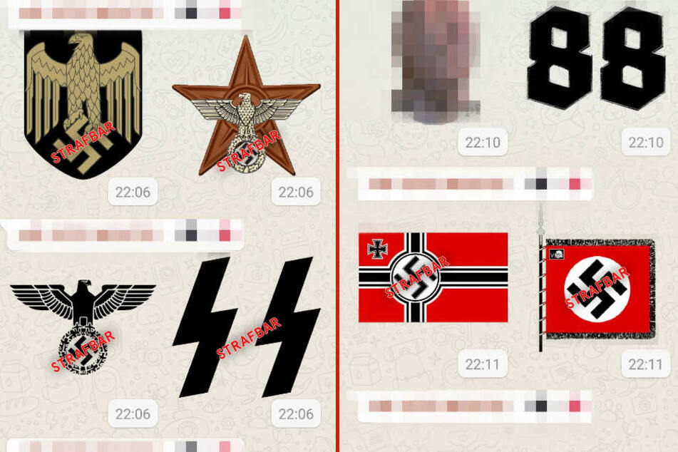 nazi whatsapp sticker