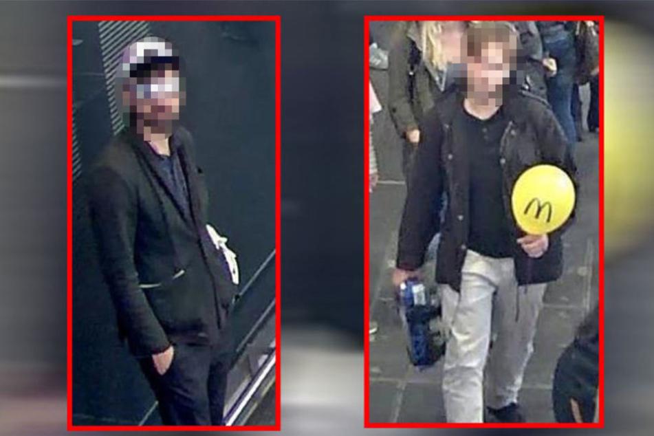 Einer der Tatverdächtigen stellte sich nach der Veröffentlichung der Bilder.