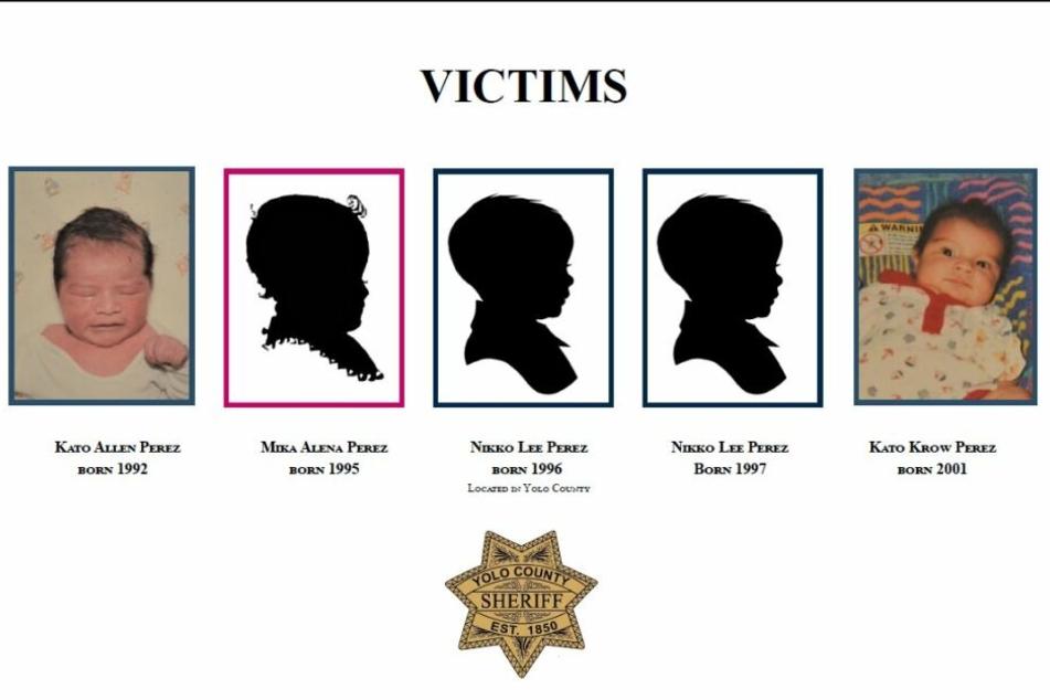 Die fünf Opfer des mutmaßlichen Mörders Paul Perez (57) .