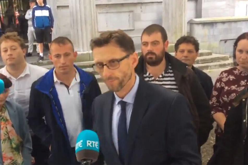 Der Anwalt des Opfers äußerte sich nach dem Urteil.