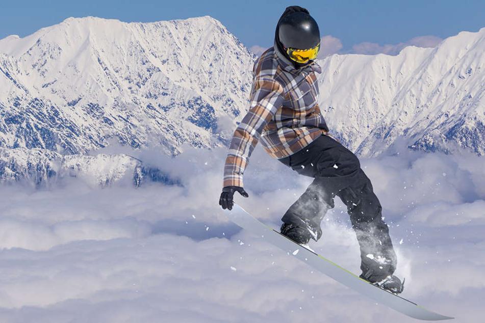 In Frankreich ist ein britischer Snowboarder verunglückt. (Symbolbild)