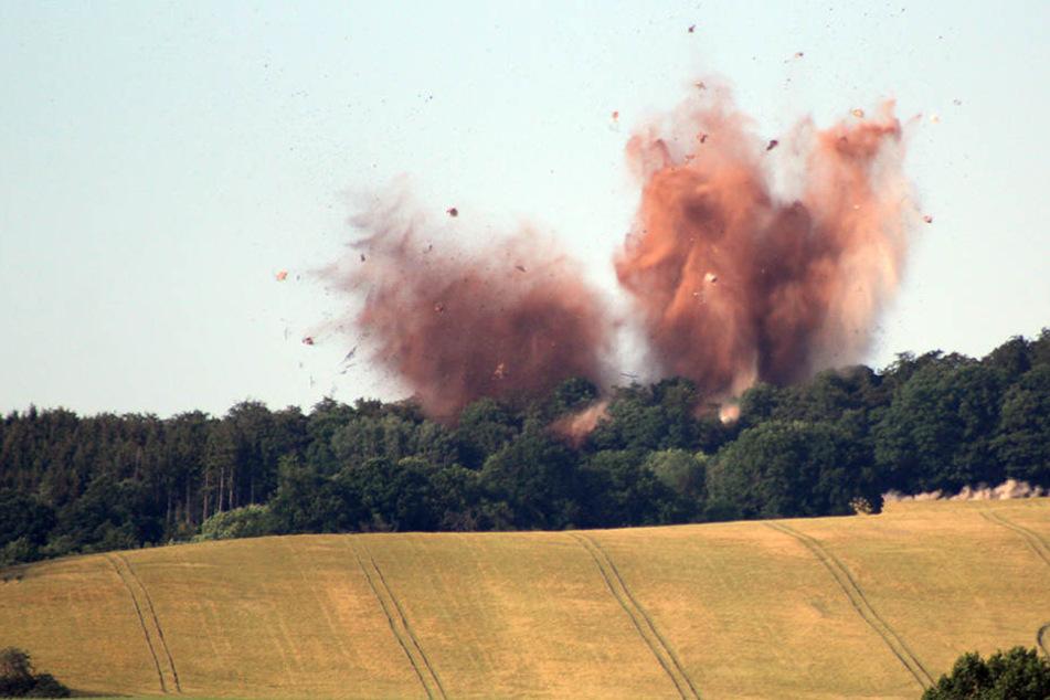 Vor gut einem Jahr musste eine kritische Fliegerbombe bei Nordhausen gesprengt werden.